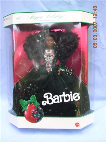 Happy Holiday Barbie 1991